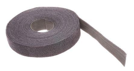 Thomas & Betts Black Hook & Loop Tape, 4.572m x 19.05 mm