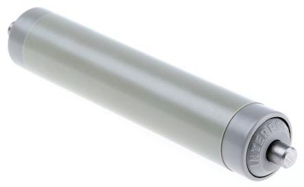 Interroll PVC Round Spring Loaded Conveyor Roller 20mm x 100mm