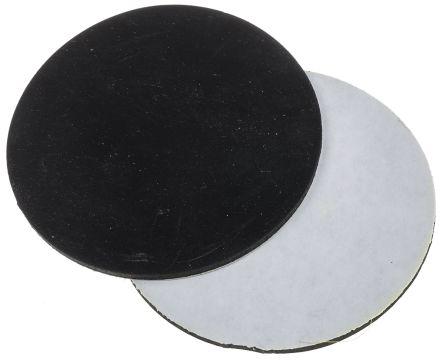 100mm Non Slip Pad Adhesive Nitrile +70°C -20°C Round 3mm product photo