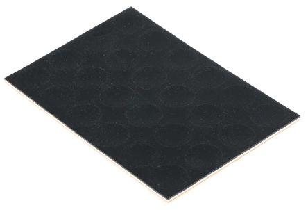 22mm Non Slip Pad Adhesive Polymer +50°C 0°C Round 3mm product photo