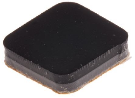 Non Slip Pad 12.7 x 12.7mm Adhesive 12.7mm Polymer +50°C 0°C Square 3mm 12.7mm product photo