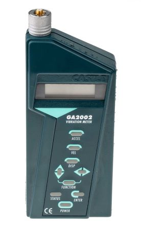 Castle GA 2002 Vibration Meter 0.01 → 100 g