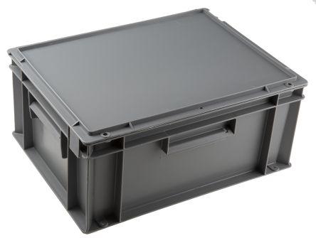 Schoeller Allibert 15L Grey Storage Box, 186mm X