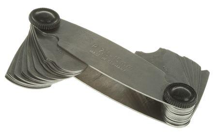 Kleffmann & Weese Radius Gauge Metric 16 Blades 7.5mm to 15mm