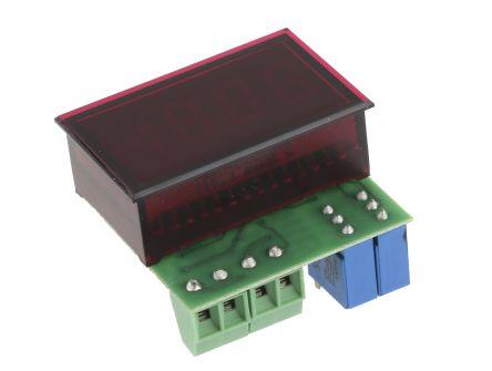Murata DMS-20PC-0/5-24RL-C , LED Digital Panel Multi-Function Meter for Voltage, 21.29mm x 33.93mm