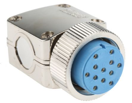 12 Way Cable Mount MIL Spec Circular Connector Plug, Socket Contacts, MIL-DTL-5015 product photo