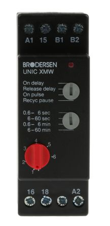 Brodersen Systems Multi Function Timer Relay Screw 0 60 min 0