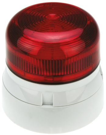 Xenon Flashing Beacon V10998 Series Red Surface Mount