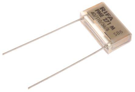 KEMET Paper Capacitor 10nF 275V ac ±20% Tolerance PME271M Through Hole +110°C