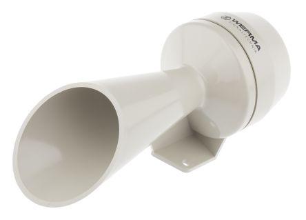 Grey Signal Horn, 24 V dc Supply Voltage, 92dB at 1 Metre
