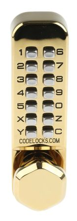 Brass Mechanical Polished Code Lock product photo