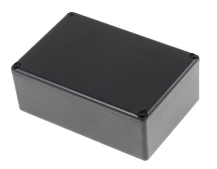 Black ABS Potting Box With Lid, 74 x 50 x 28mm product photo