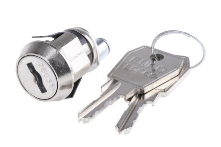 Hot Sell 1 Pcs 104a Cam Lock Electric Cabinet Lock Chrome Finish Hasps & Locks