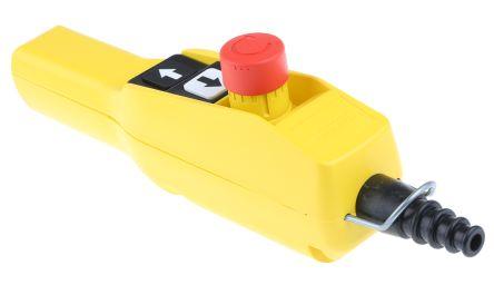 xaca2113 schneider electric 2no nc 3 push button pendant station 3 rh uk rs online com