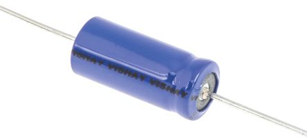 Vishay 100μF Electrolytic Capacitor 63V dc Through Hole - MAL202138101E3
