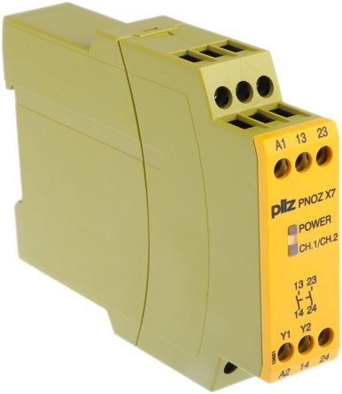 F3247274 02 pnoz x7 24vacdc 2n o pnoz x safety relay, single channel, 24 v pilz pnoz x7 wiring diagram at reclaimingppi.co