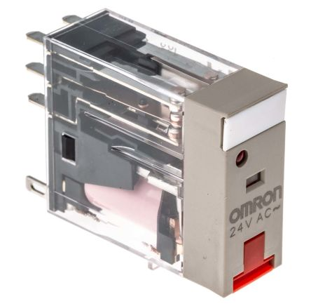 G2R-1-SN 24AC 24V ac Omron SPDT PCB Mount Non-Latching Relay Plug In 10 A