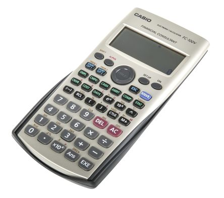 b57d1183eb01 Calculadora Casio FC-100V-S-UH