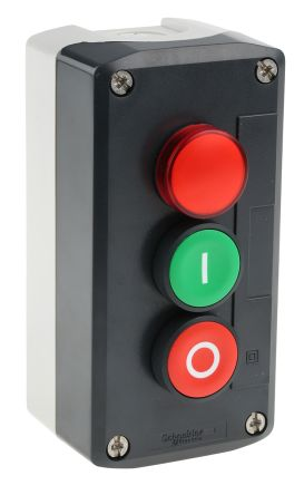 Schneider Electric XALD363G Enclosed Push Button