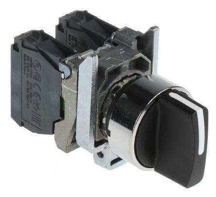 Schneider Electric Harmony XB4 3 positions Screw Rotary Switch, 10 A
