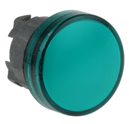 Indicador luminoso con LED verde,230Vac