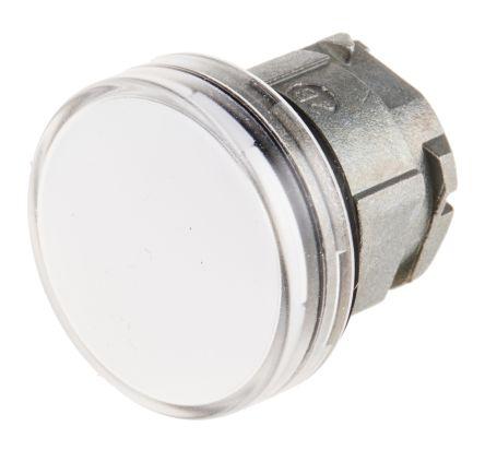 Schneider Electric Harmony XB4 Series, White Pilot Light Head, 22mm Cutout