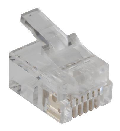 RS Pro RJ11 Stecker, 6P6C, Kabelmontage, gerade   RS Components