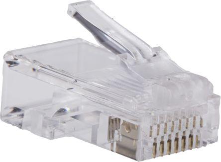 8P8C-R RS Pro | RS Pro 8P8C Way Straight Cable Mount Unshielded RJ45 ...