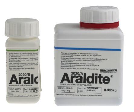 Araldite 2020, 500 g Transparent Dual Cartridge Epoxy Adhesive for Ceramic,  Metal, Plastic, Rubber