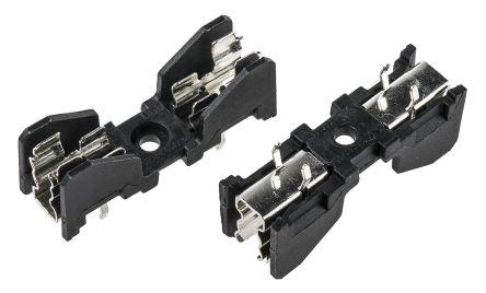 Schurter 10A PCB Mount Fuse Holder for 5 x 20 mm, 6.3 x 32 mm Cartridge Fuse, 500V ac