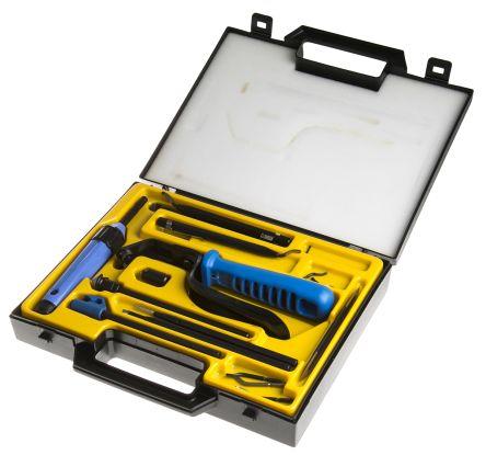 Noga, 18 Piece, Deburring Tool Kit