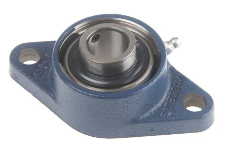 2 Hole Flanged Bearing, FYTB 20 TF, 20mm ID