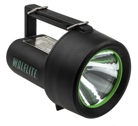 Wolf Safety, Halogen Handlamp, 2.4W, 5 m Beam, Focusing