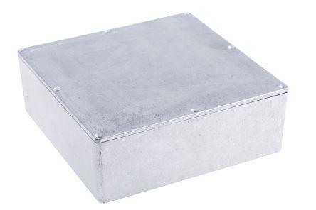 Hammond 1590, Die Cast Aluminium Enclosure, IP54, Shielded, 188 x 188 x 67mm