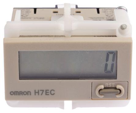 Contador DIN LCD 24x48 beige,H7EC-N