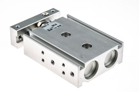 SMC Pneumatic Guided Cylinder 20mm Bore, 10mm Stroke, CXSM Series