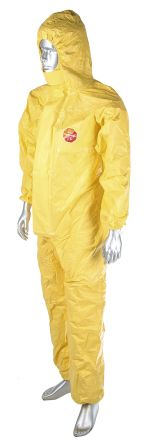 SL162TCS59 Yellow Disposable Coverall product photo