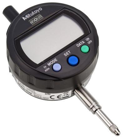 Mitutoyo 543-391B Plunger Dial Indicator, Range 0  12.7 mm