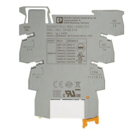 2966171 spdt din rail interface relay module screw. Black Bedroom Furniture Sets. Home Design Ideas