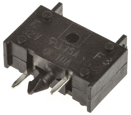 Littelfuse 15A PCB Mount Fuse Holder Automotive Fuse, 32V