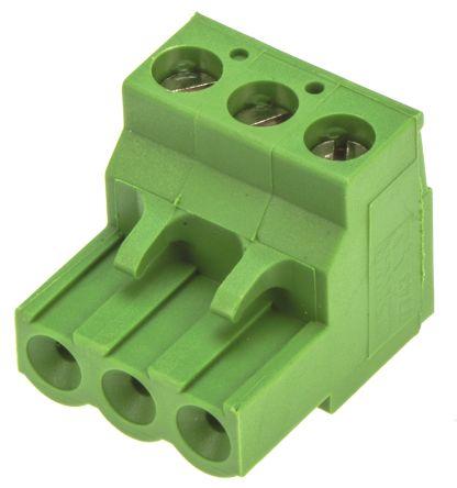 Screw 12 AWG 24 AWG 5.08 mm 10 Ways Pluggable Terminal Block