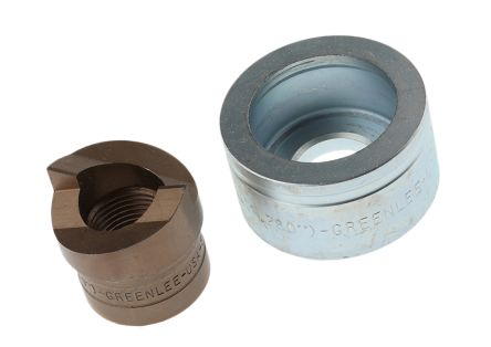 Greenlee Punch and Die Tool, Hydraulic, Circular 32.5mm