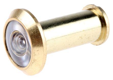Abus 200° Brass Door Viewer