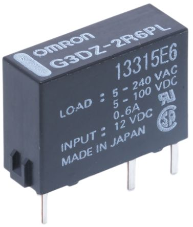 G3DZ2R6PLDC12 Omron 06 A SPNO Solid State Relay PCB Mount - Solid State Relay Ir