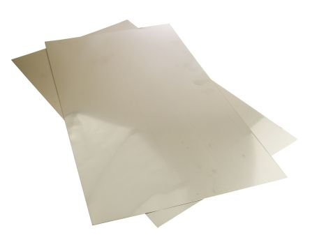 304S15 Stainless Steel Sheet, 500mm x 300mm x 0.5mm