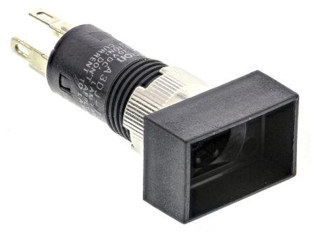 A3DJ7111 | Omron Frontplatten Drucktaster beleuchtet, Einpoliger Ein ...