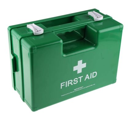 Carrying Case, Wall Mounted First Aid Kit for 10 people, 310 mm x 210mm x 120 mm