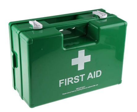 Wall Mounted First Aid Kit for 50 people, 295 mm x 350mm x 117 mm