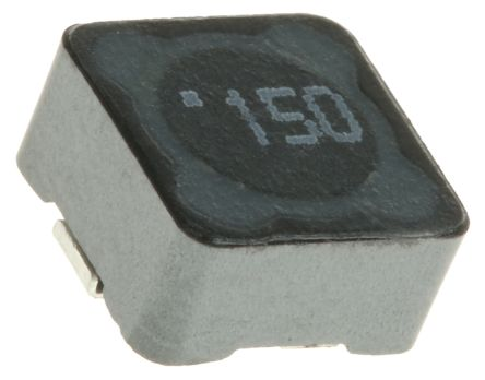 Wurth WE-PD Series Shielded Wire-wound SMD Inductor with a Ferrite Core, 15  μH ±20% 1 6A Idc