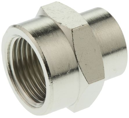 BSPP Female Parker 0902 17 21 Adaptor G3//8 and G1//2 Nickel Plated Brass